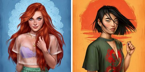 How Disney Princesses Would Look Like If They Lived In 2017