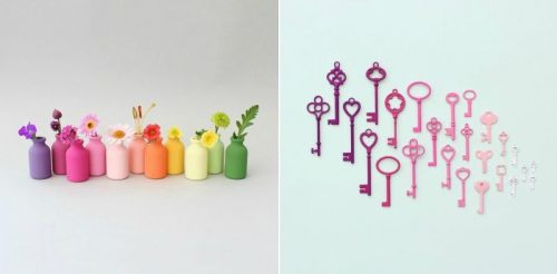 Satisfying Color Arrangements of Everyday Objects