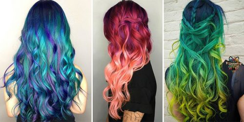Dreamy and Pastel or Vibrant and Lively – 30 Wonderful Mermaid Hairstyles