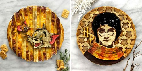 Incredible Pies Inspired by Fave TV Series, Movies, Video Games, Books and Music
