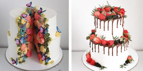 Cakes as Edible Artworks by Yulia Kedyarova