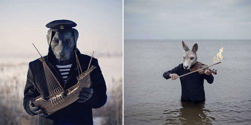 "Fine Art Photography Project – ""My Heart is An Animal"" by Katarzyna and Marcin Owczarek"