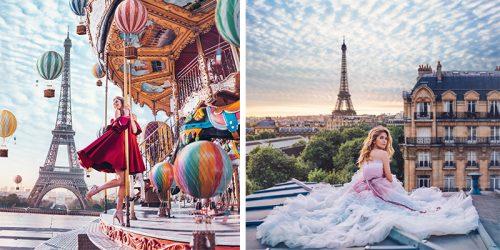 Parisian Fantasy – Perfect Feminine Photo Series