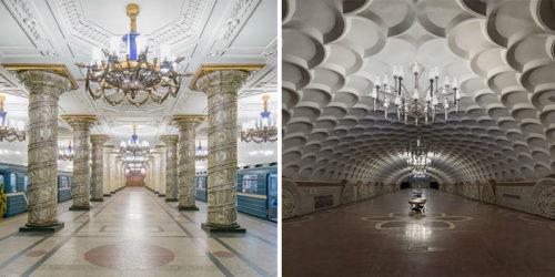 "Glorious ""Soviet Metro Stations"" Photos by Christopher Herwig"