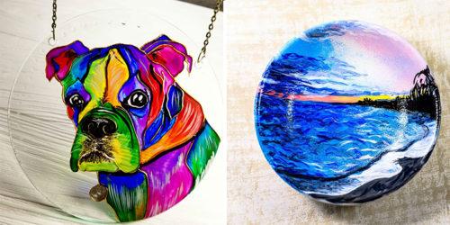 Discover Beautiful World of Vita's Glass Art