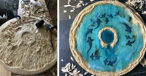 Ocean Atoll – Natural Harmony by Brilliant Amanda Tyburski