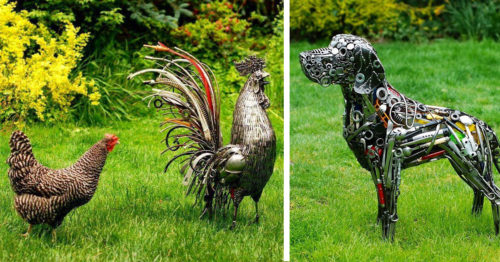 Legendary Brian Mock's Upcycling Masterpieces