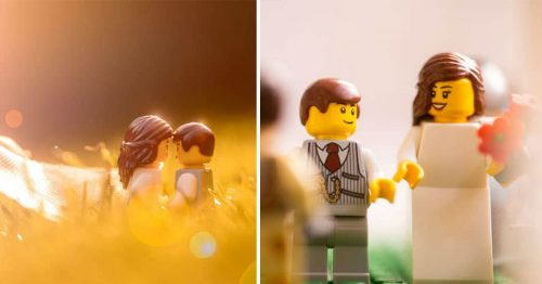 LEGO Wedding Ceremony in the Midst of Coronavirus Shutdowns
