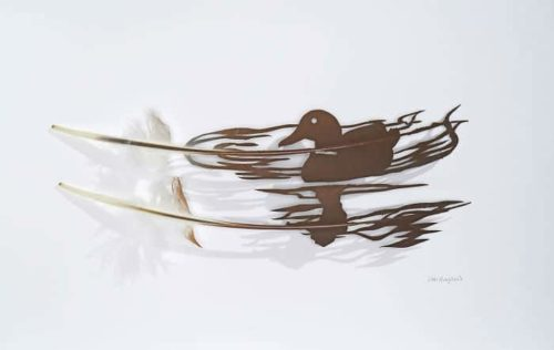 Featherfolio by Chris Maynard – Naturally Obtained Feathers Carved Using Eye Surgery Scissors And Scalpels
