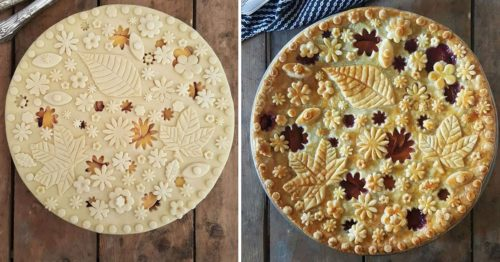 Satisfying Before & After Pie-fection by Pastry Designer Karin Pfeiff-Boschek