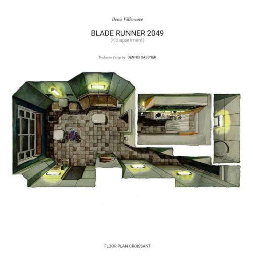 "Project ""Floor Plan Croissant"" by Boryana Ilieva – Poetic Survey of Cinematic Architecture"