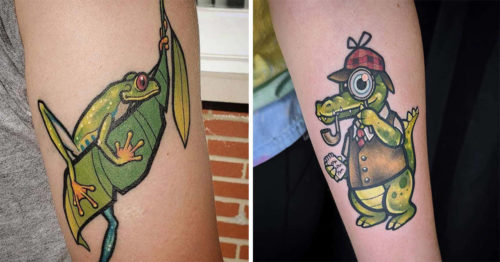 Traveling Tattoo Artist Specialized in Whimsical and Nature Themed Illustration